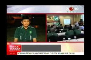 Rangkaian Multamar PKB dalam program Apa Kabar Indonesia Malam, TV One, 30 Agustus 2014